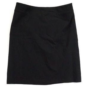 Banana Republic stretch 12 black pencil skirt